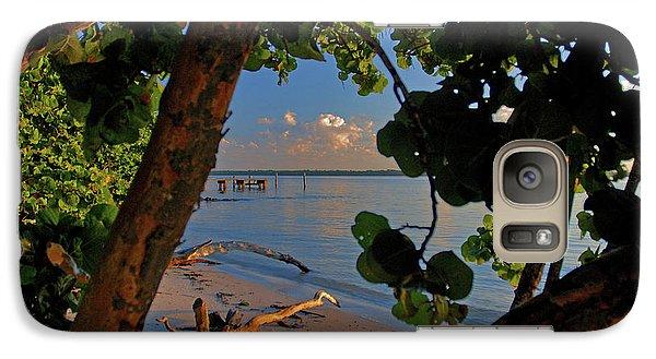 Galaxy Case featuring the photograph 1- North Palm Beach by Joseph Keane