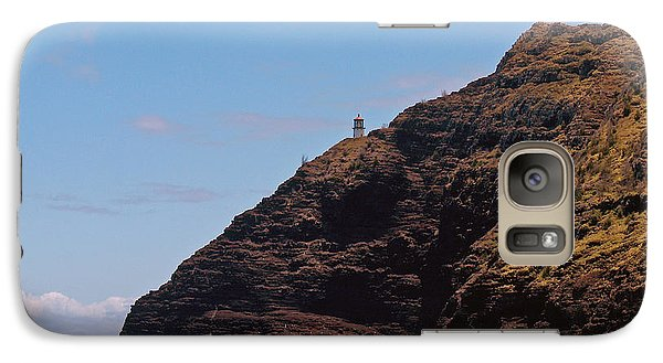 Oahu - Cliffs Of Hope Galaxy S7 Case by Anthony Baatz