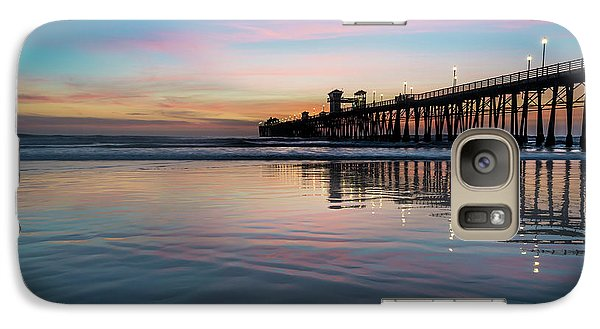 Oceanside Pier Sunset Galaxy S7 Case