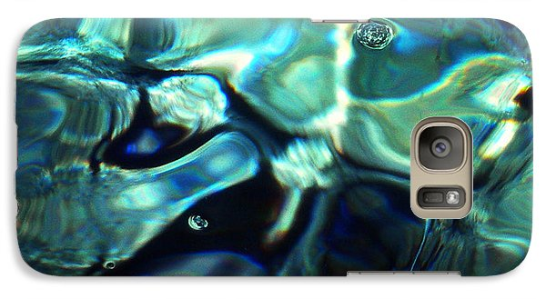 Galaxy Case featuring the photograph Ocean Water by Colette V Hera  Guggenheim