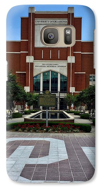 Oklahoma Memorial Stadium Galaxy S7 Case by Center For Teaching Excellence
