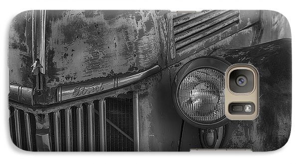 Old Ford Pickup Galaxy S7 Case by Garry Gay