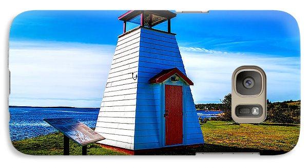 Galaxy Case featuring the photograph Old Lighthouse by Rick Bragan