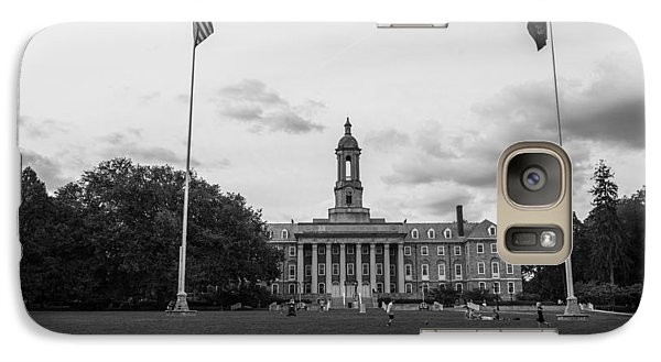 Old Main Penn State Black And White  Galaxy S7 Case