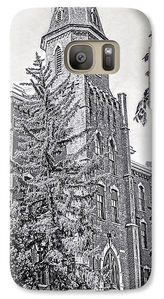 Galaxy Case featuring the photograph Old Main University Of Colorado Boulder by Ann Powell