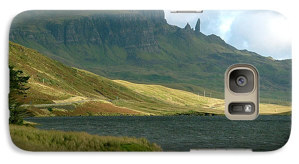Galaxy Case featuring the painting Old Man Of Storr by Louise Fahy