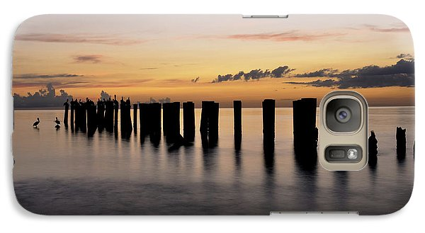 Galaxy Case featuring the photograph Old Naples Pier by Kelly Wade