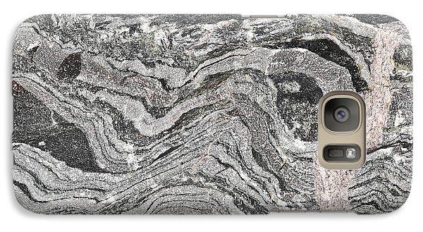 Old Rock Background Galaxy Case by Tom Gowanlock
