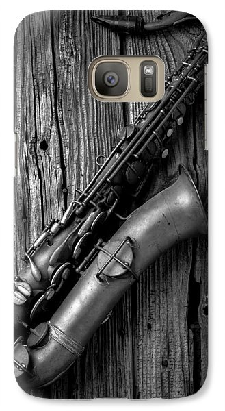 Old Sax Galaxy S7 Case by Garry Gay