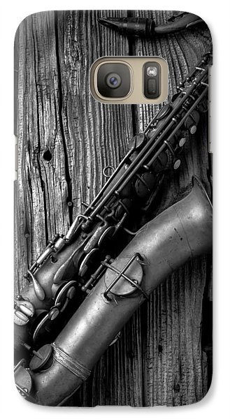 Saxophone Galaxy S7 Case - Old Sax by Garry Gay