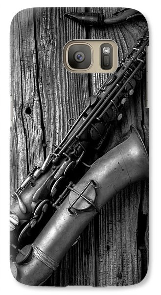 Old Sax Galaxy S7 Case by Garry Gay
