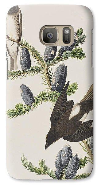 Olive Sided Flycatcher Galaxy S7 Case by John James Audubon
