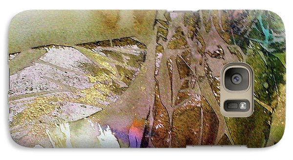 Galaxy Case featuring the painting On Gossamer Wing by Mary Sullivan