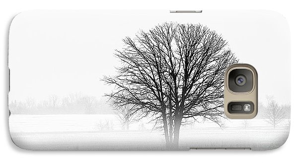 Galaxy Case featuring the photograph One... by Nina Stavlund