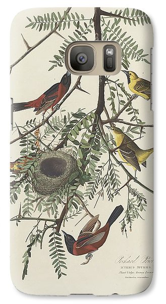 Orchard Oriole Galaxy S7 Case by Rob Dreyer