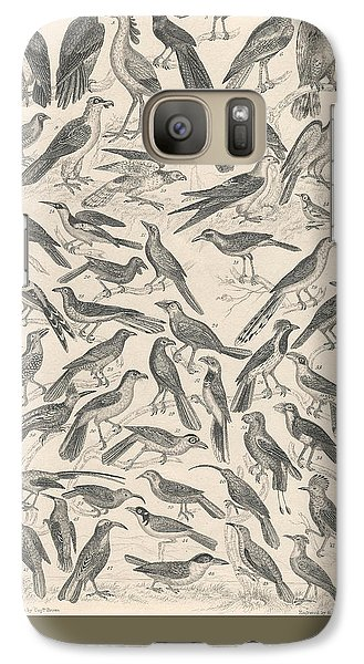 Condor Galaxy S7 Case - Ornithology by Dreyer Wildlife Print Collections