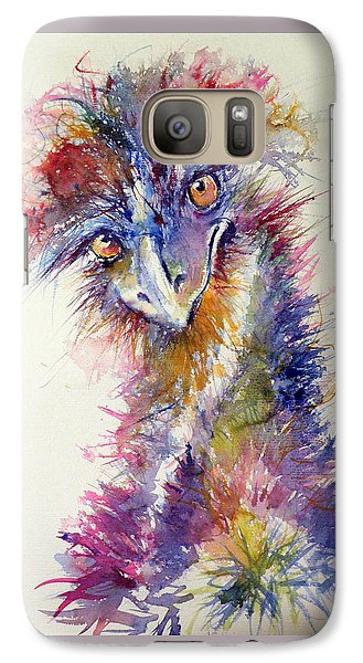 Ostrich Galaxy S7 Case - Ostrich by Kovacs Anna Brigitta