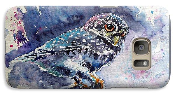 Owl At Night Galaxy S7 Case