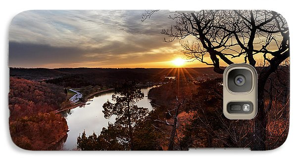 Galaxy Case featuring the photograph Ozark Sunset by Dennis Hedberg