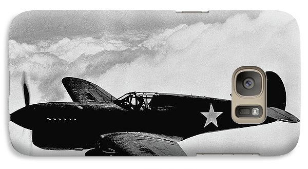 Airplanes Galaxy S7 Case - P-40 Warhawk by War Is Hell Store