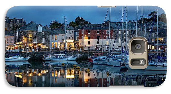 Galaxy Case featuring the photograph Padstow Evening by Brian Jannsen