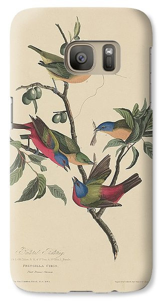 Painted Bunting Galaxy S7 Case
