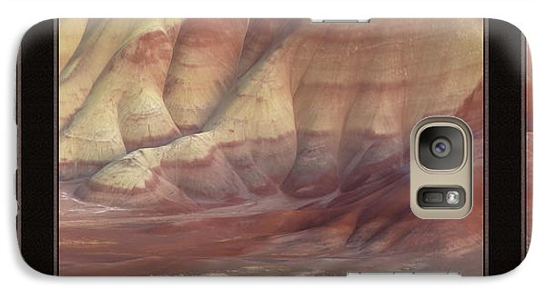 Galaxy Case featuring the photograph Painted Hills Triptych by Leland D Howard