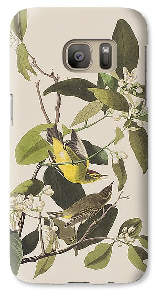Palm Warbler Galaxy S7 Case
