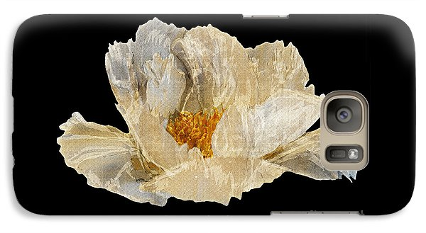 Galaxy Case featuring the photograph Paper Peony by Diane E Berry