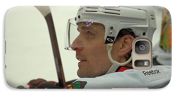 Galaxy Case featuring the photograph Patrick Sharp by Melissa Goodrich