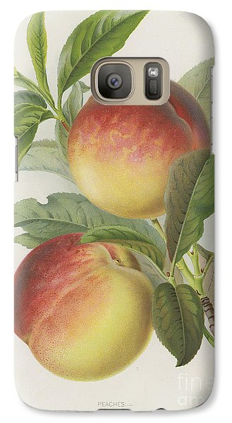 Peaches Galaxy S7 Case