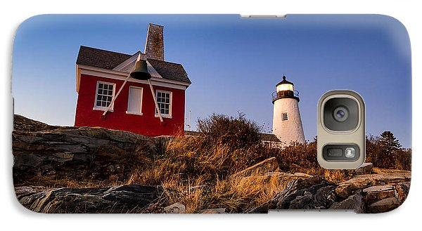 Galaxy Case featuring the photograph Pemaquid Sky by Robert Clifford