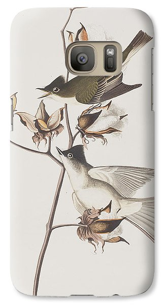 Pewit Flycatcher Galaxy S7 Case by John James Audubon