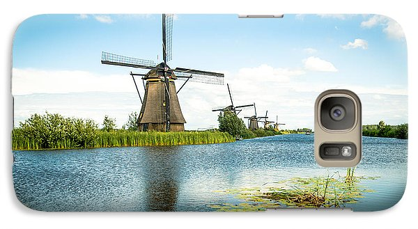 Galaxy Case featuring the photograph Picturesque Kinderdijk by Hannes Cmarits