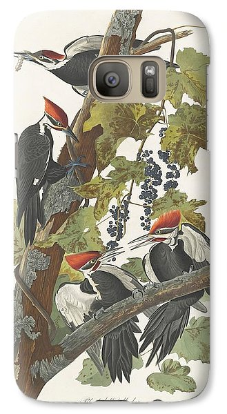 Pileated Woodpecker Galaxy S7 Case by Anton Oreshkin