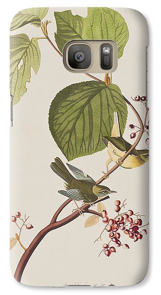Pine Swamp Warbler Galaxy S7 Case by John James Audubon