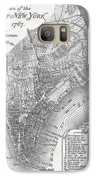 Plan Of The City Of New York Galaxy Case by American School