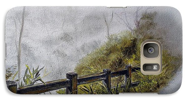 Galaxy Case featuring the painting Play Misty For Me by Anna-maria Dickinson