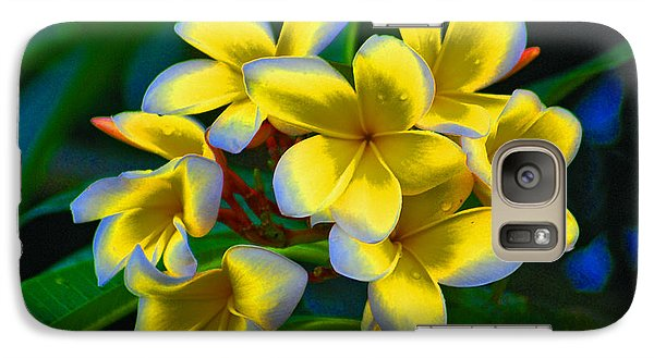 Galaxy Case featuring the photograph 1- Plumeria Perfection by Joseph Keane