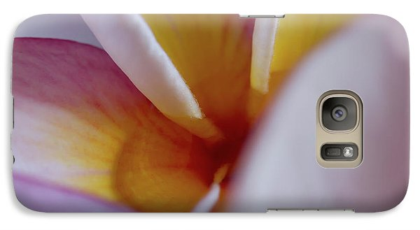 Galaxy Case featuring the photograph Plumeria by Roger Mullenhour