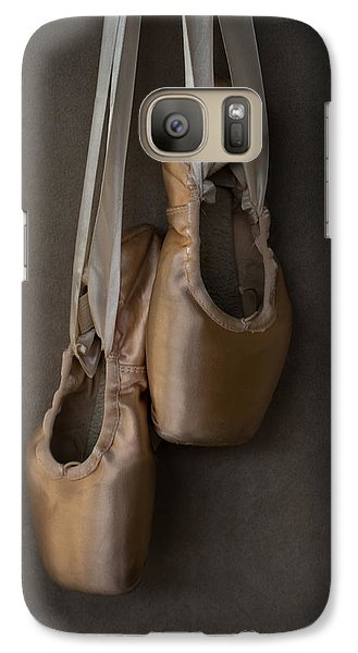 Galaxy Case featuring the photograph Sacred Pointe Shoes by Laura Fasulo