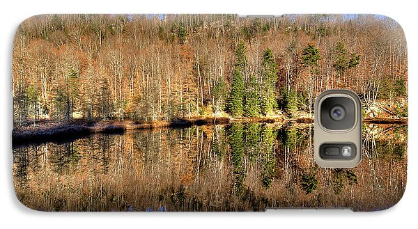 Galaxy Case featuring the photograph Pond Reflections by David Patterson