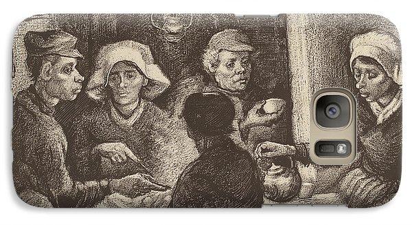 Potato Eaters, 1885 Galaxy Case by Vincent Van Gogh
