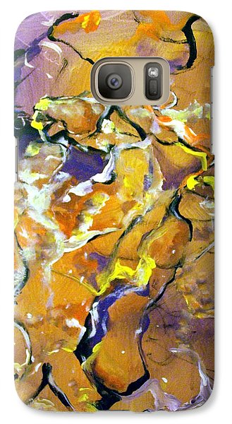 Galaxy Case featuring the painting Praise Dance by Raymond Doward