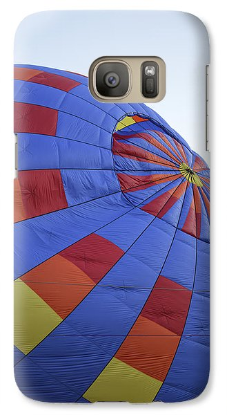 Galaxy Case featuring the photograph Preparing For Lift Off by Linda Geiger