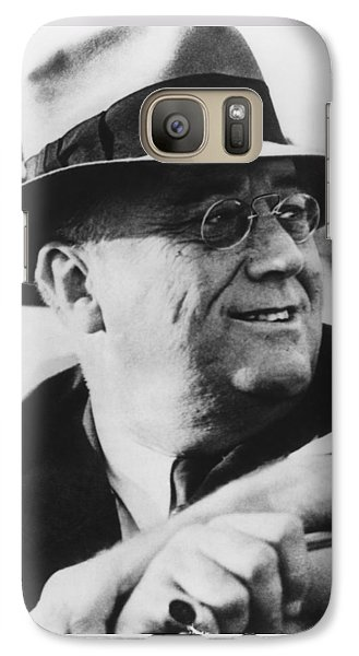 Galaxy Case featuring the photograph President Franklin Roosevelt by War Is Hell Store