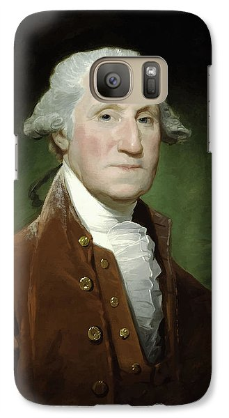 President George Washington  Galaxy Case by War Is Hell Store