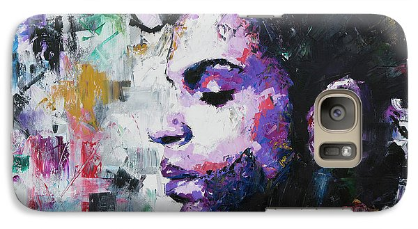 Galaxy Case featuring the painting Prince by Richard Day