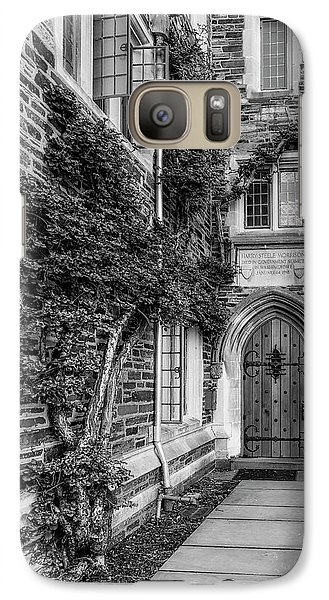 Galaxy Case featuring the photograph Princeton University Foulke Hall II by Susan Candelario