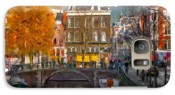 Galaxy Case featuring the photograph Prinsengracht 807. Amsterdam by Juan Carlos Ferro Duque